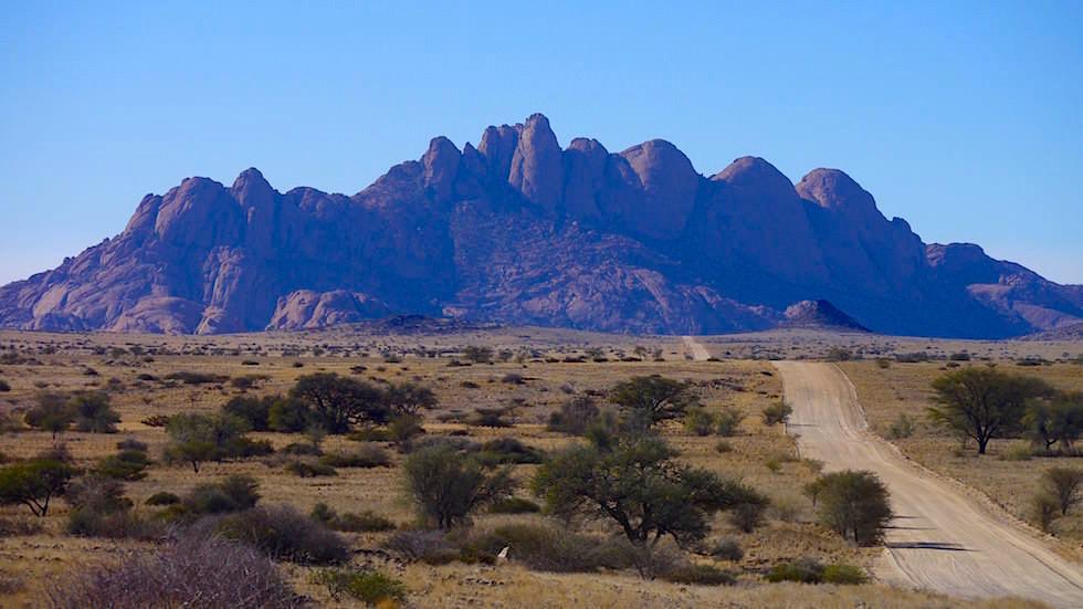 Kletterregion Spitzkoppe - Spitzkoppe Gebirge - Namibias Matterhorn Afrika