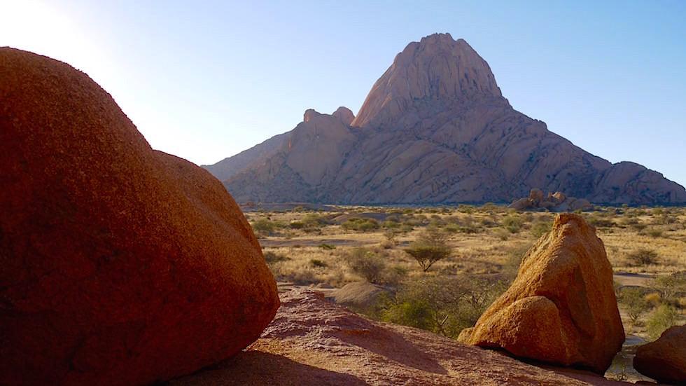 Ausblick - Spitzkoppe Gebirge - Namibias Matterhorn Afrika