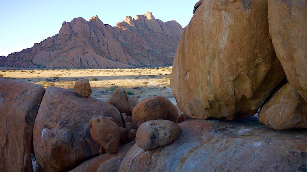 Schildkröte Felsformation - Spitzkoppe Gebirge - Namibias Matterhorn - Afrika