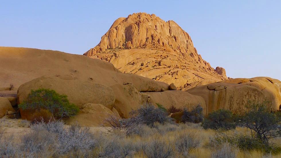 Felslandschaft Spitzkoppe Gebirge - Namibias Matterhorn - Afrika