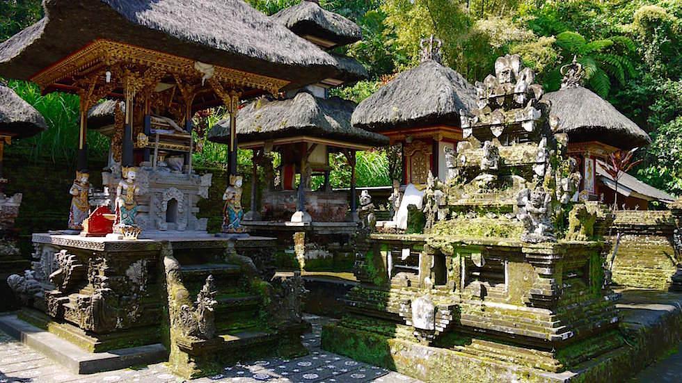 Hauptplatz - Pura Gunung Kawi Sebatu - Ubud Bali, Indonesien