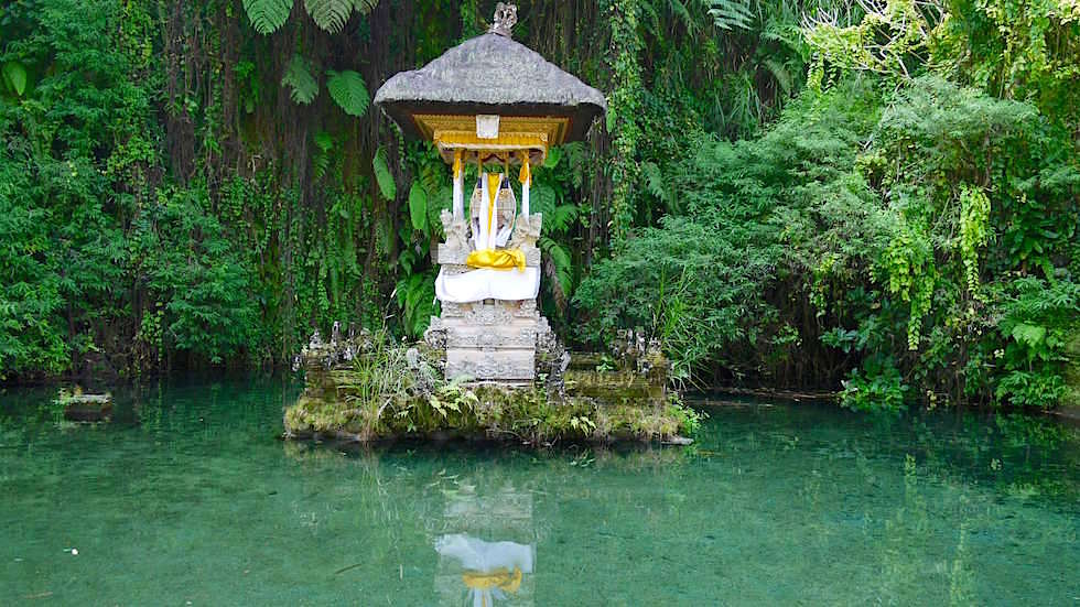 Quellenheiligtum - Pura Gunung Kawi Sebatu - Ubud Bali, Indonesien