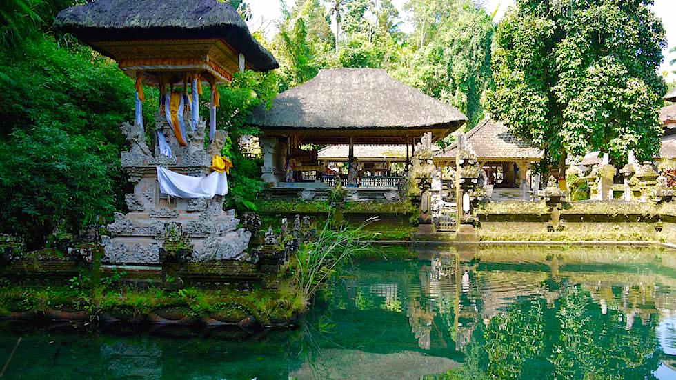 Quellenheiligtum - Pura Gunung Kawi Sebatu - Bali, Indonesien