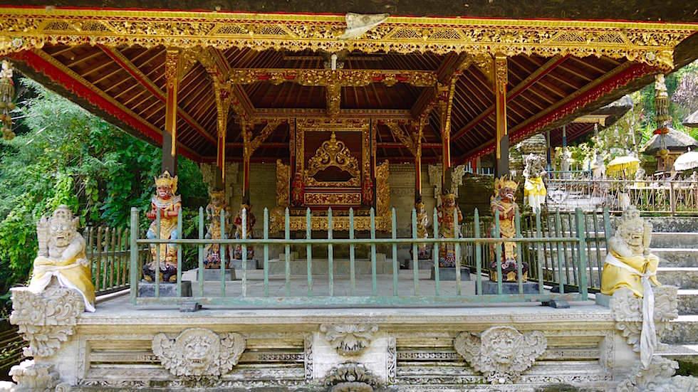 Pavillon mit Altar - Pura Gunung Kawi Sebatu - Ubud Bali, Indonesien