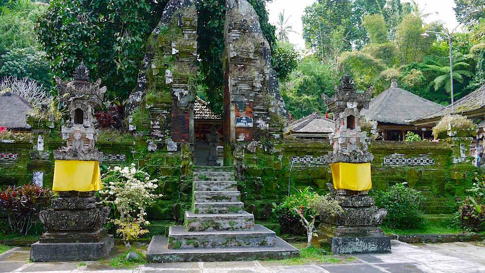 Eingang Hauptempel - Pura Gunung Kawi Sebatu - Ubud Bali, Indonesien