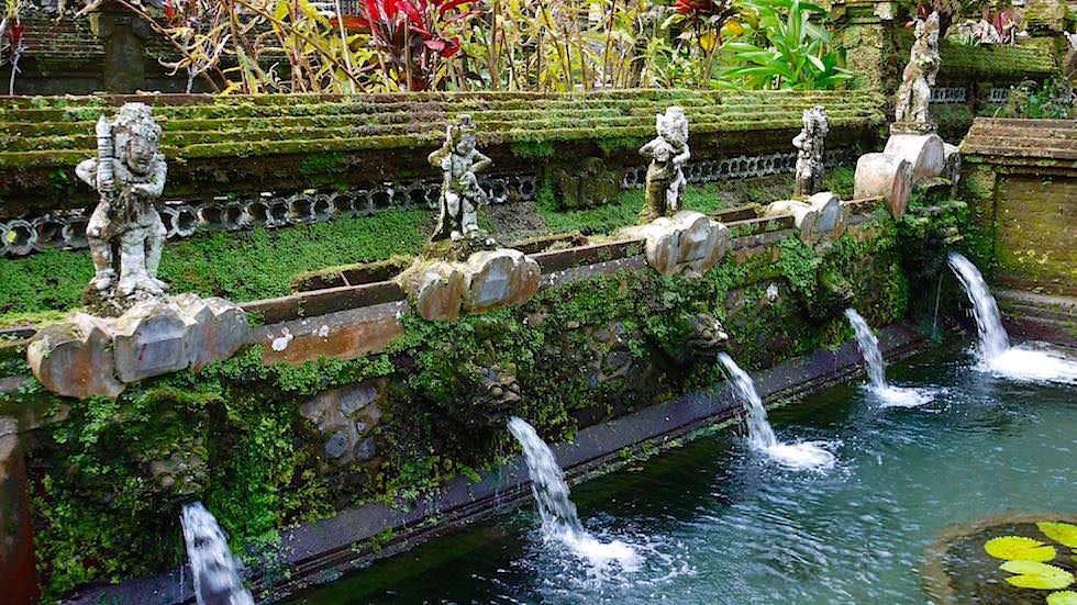Wasserspeier - Pura Gunung Kawi Sebatu - Ubud Bali, Indonesien