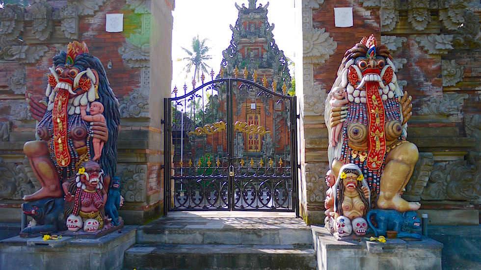 Tempel Eingang - Von Ubud nach Lovina - Bali, Indonesien