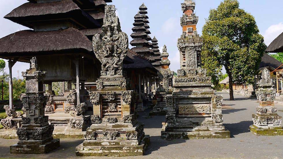 Blick in den Taman Ayun Tempel - Von Ubud nach Lovina - Bali, Indonesien