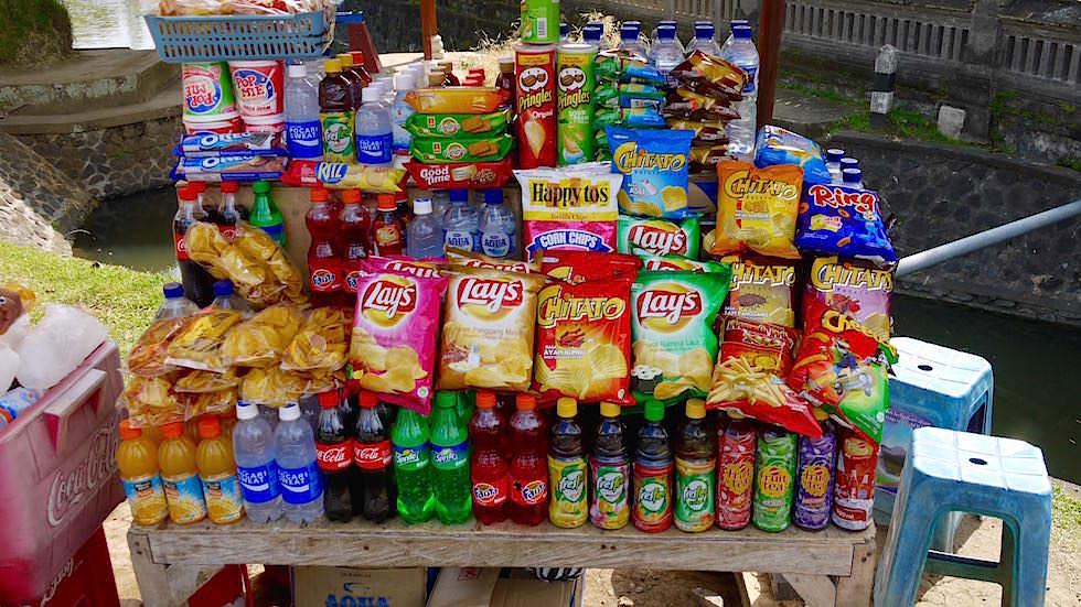 Verkaufsstand - Von Ubud nach Lovina - Bali, Indonesien