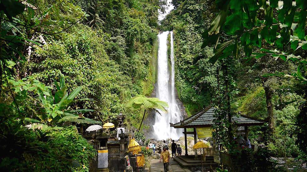 Gitgit Wasserfälle - Von Ubud nach Lovina - Bali, Indonesien