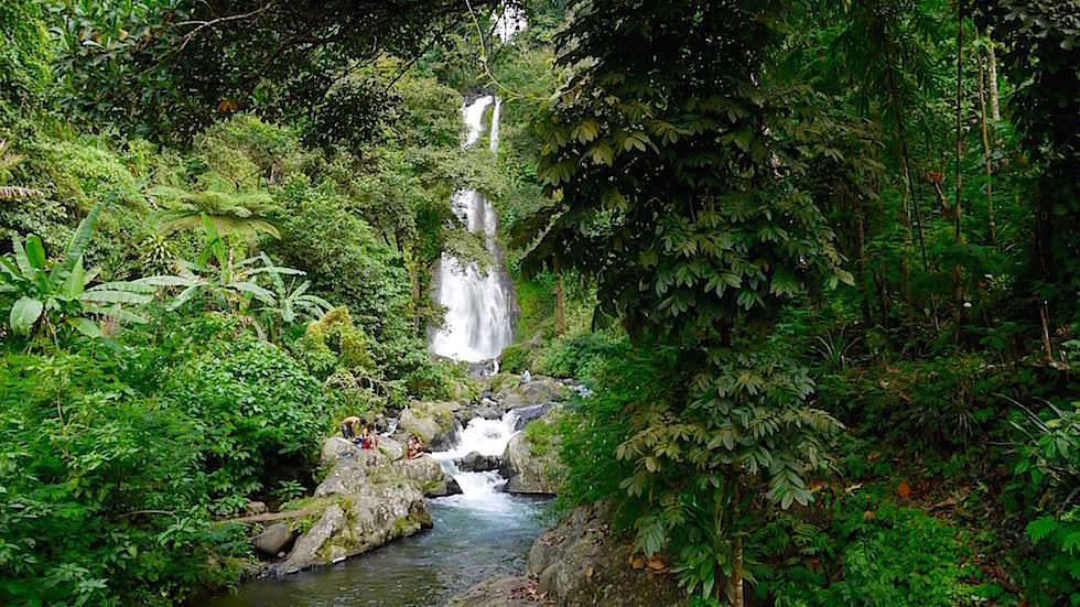 Gitgit Wasserfall - Von Ubud nach Lovina - Bali, Indonesien