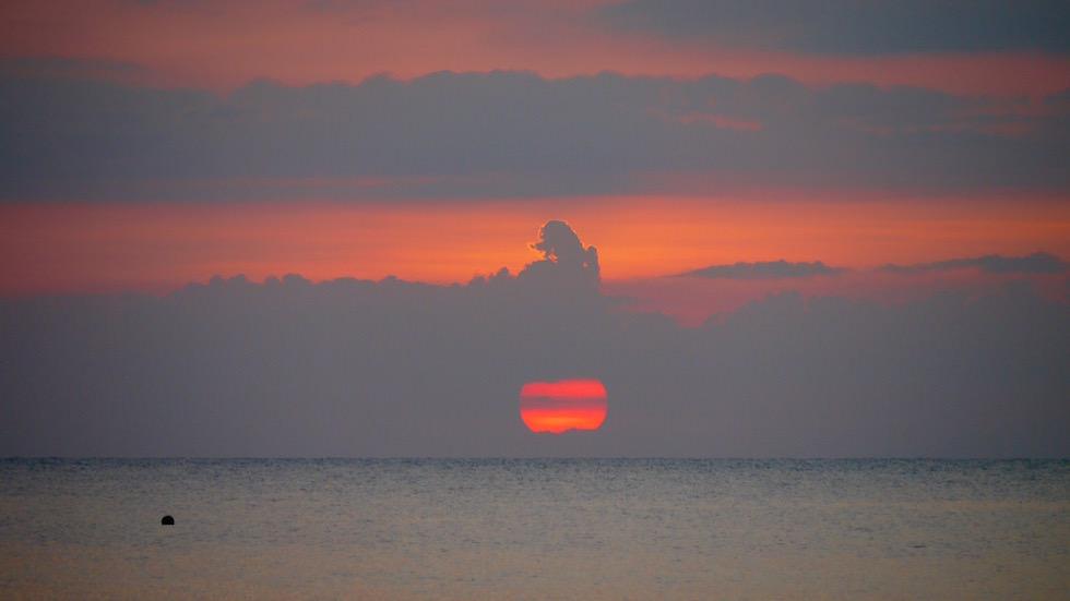 Sonnenuntergang Lovina Beach - Von Ubud nach Lovina - Bali, Indonesien