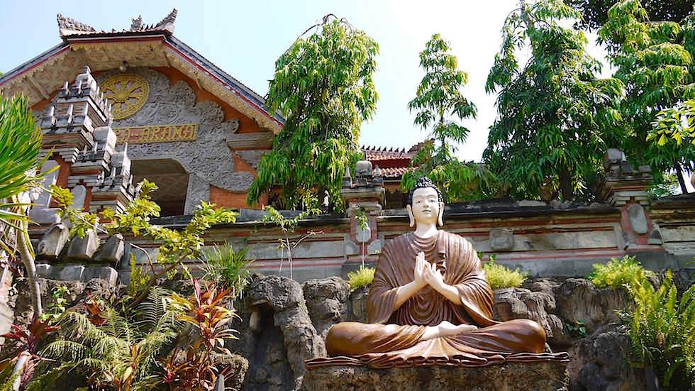 Brahmavihara - Buddha Statue - im Norden von Bali bei Lovina Beach in Indonesien