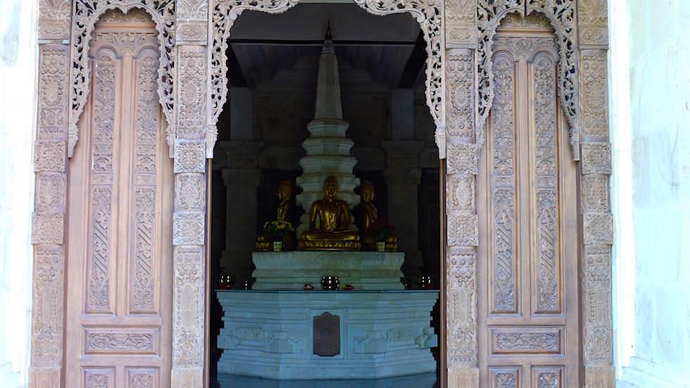 Brahmavihara - Hauptempel Eingang im Norden von Bali bei Lovina Beach in Indonesien