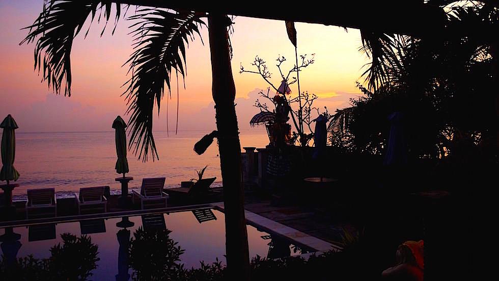 Sonnenaufgang Meer - Amed Bali Indonesien