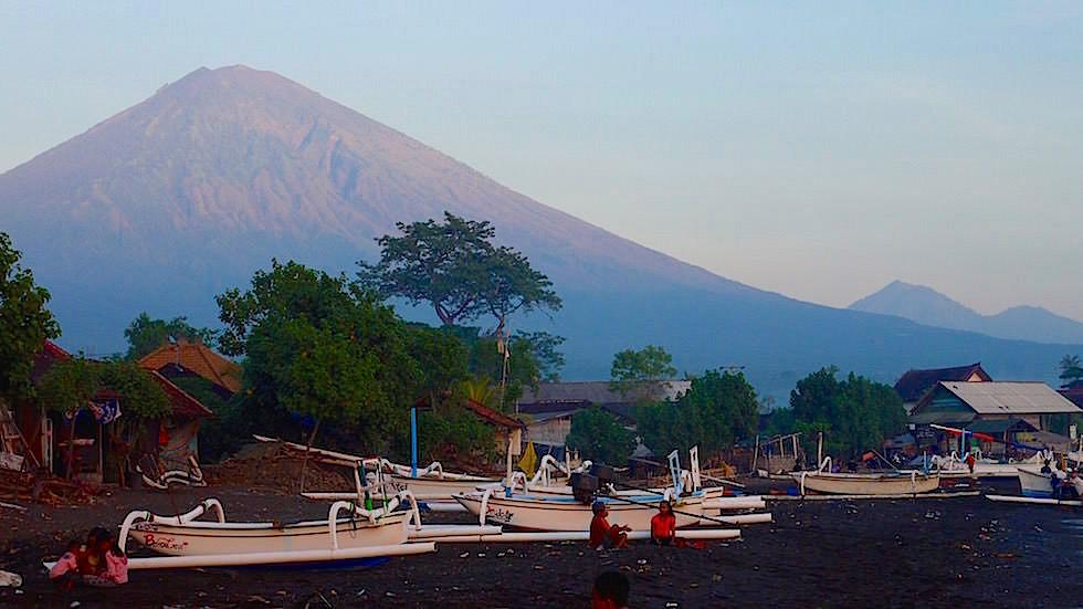 Sonnenaufgang Mt Agung - Amed Bali Indonesien