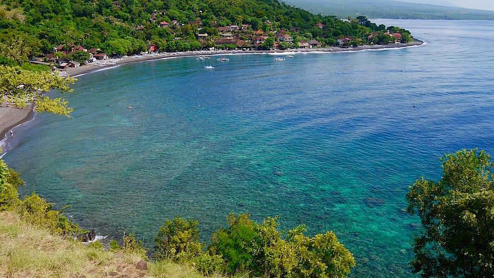 Jemeluk Küste bei Amed Bali Indonesien