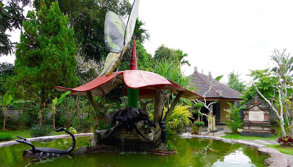 Eingang - Bali Butterfly Park - Indonesien