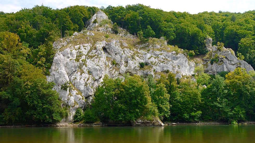 Aussichtspunkt - Wanderung zum Donaudurchbruch - Weltenburger Enge bei Kehlheim Bayern