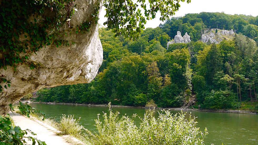 Bienenkorb - Wanderung zum Donaudurchbruch - Weltenburger Enge bei Kehlheim Bayern