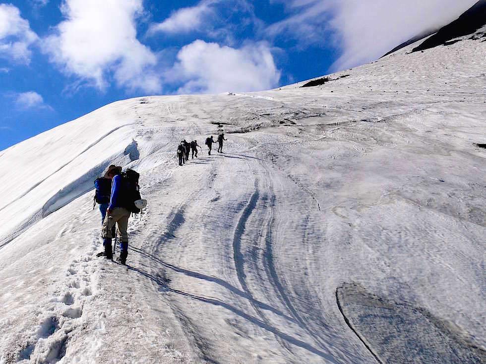 Aufstieg -Vulkan Villarrica - Pucon - Chile