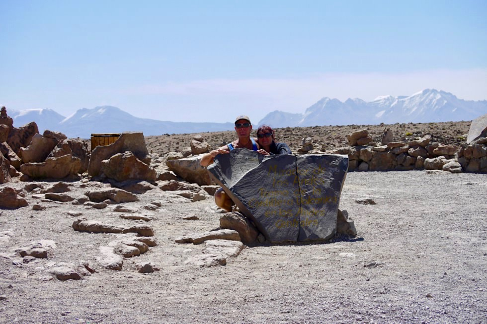 Patapampa Pass - Ausblick vom Pass 4910m - Chivay - Peru