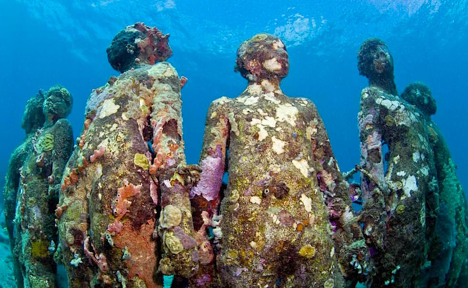 Unterwasserskulpturen- @ Jason deCaires Taylor - Cancun - Mexiko