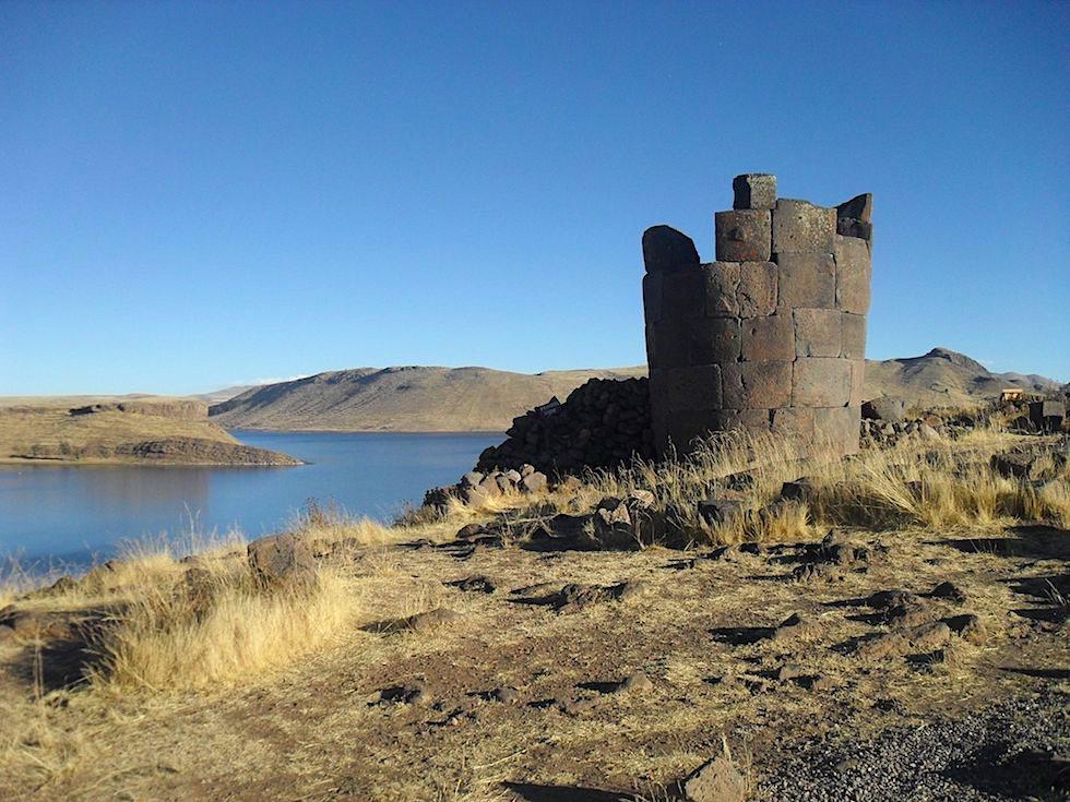 Chullpa Sillustani von Adventureluap - Puno, Titicaca See - Peru