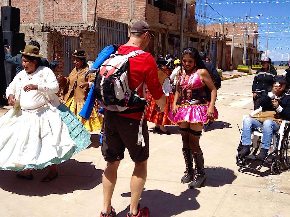 Straßen Tanzen Puno Festival - Folklore Puno Titicaca See - Peru
