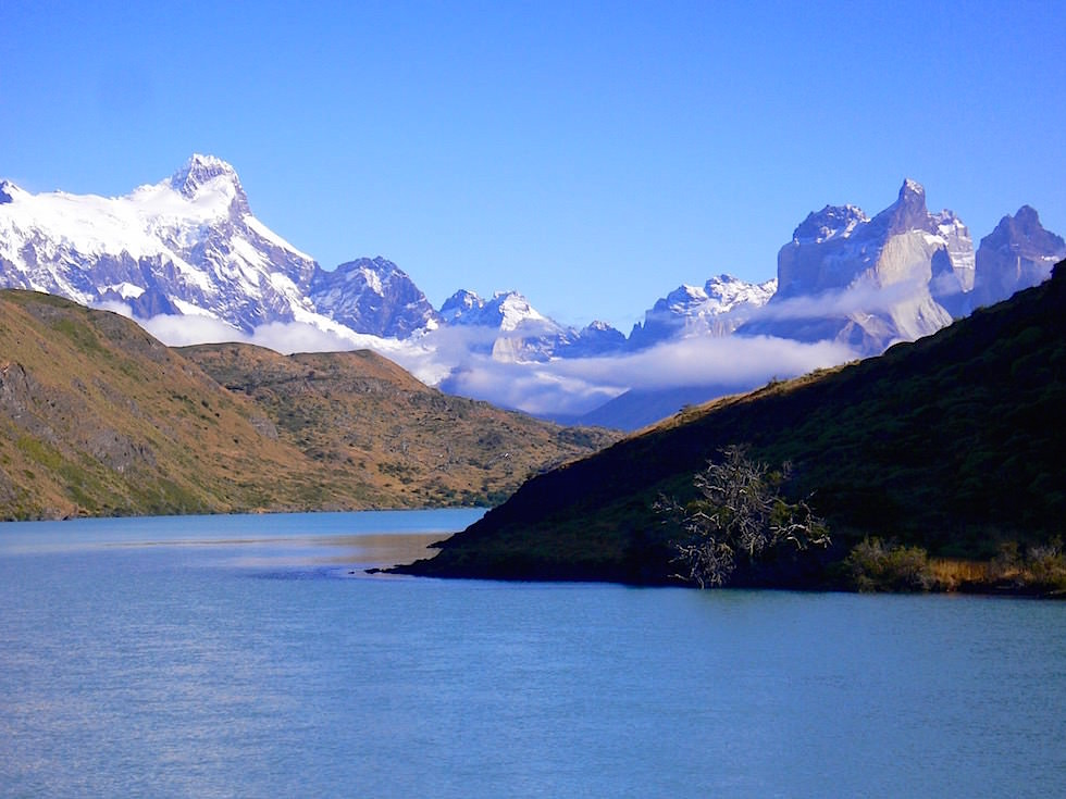 Sightseeing - Lago Pehoé - Torres del Paine Nationalpark - Patagonien, Süd-Chile
