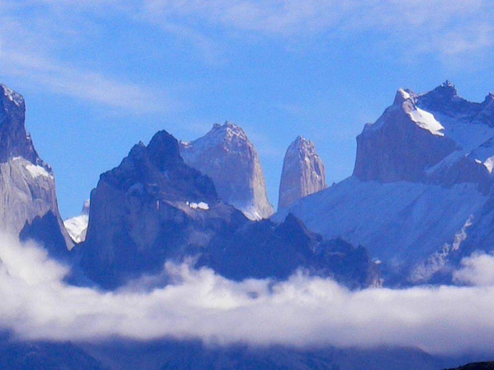 Torres & Los Cuernos - Lago Pehoe - Torres del Paine Nationalpark - Patagonien, Süd-Chile