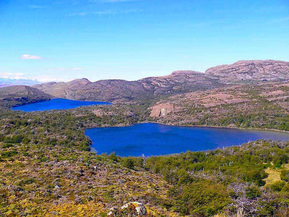Lagunen vom Mirador Condor aus - Torres del Paine Nationalpark - Patagonien, Süd-Chile