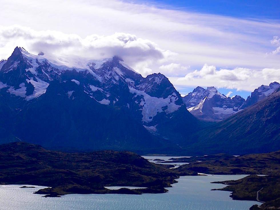 Piane Grande vom Mirador Condor- Torres del Paine Nationalpark - Patagonien, Süd-Chile