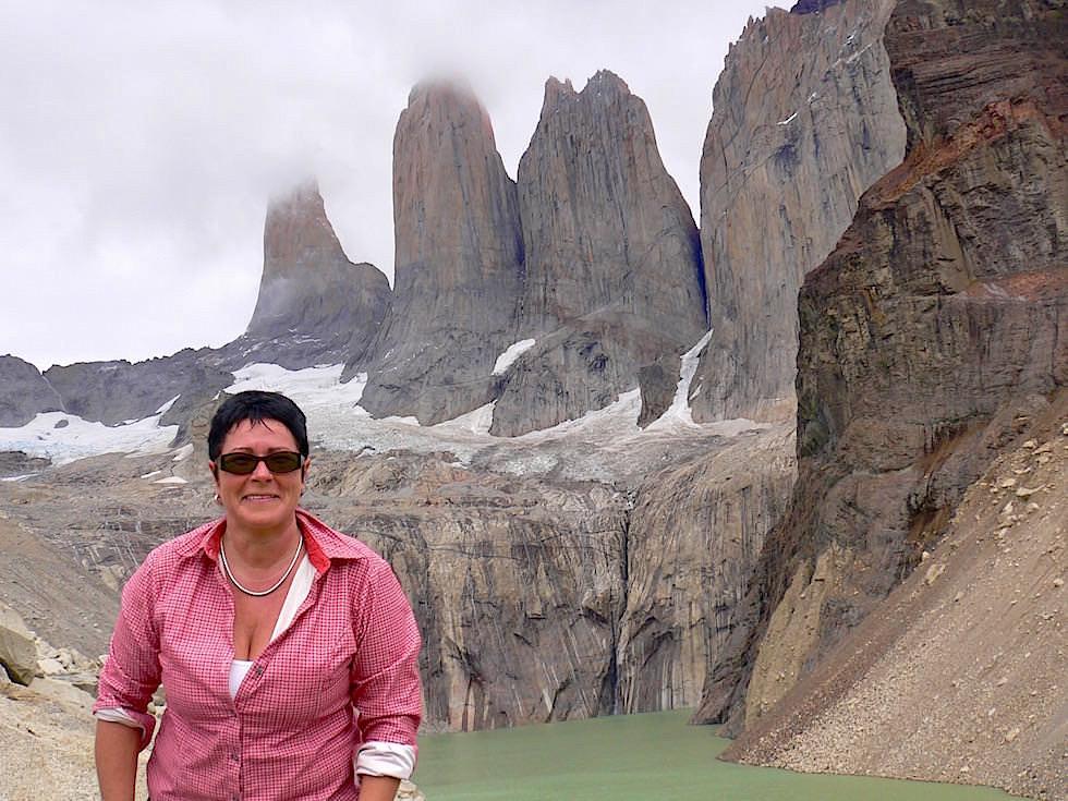 Torres del Paine - Torres del Paine Nationalpark - Patagonien, Süd-Chile