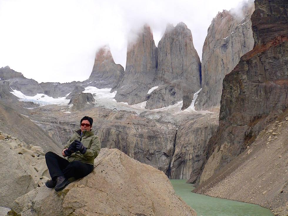 Mirador las Torres del Paine - Torres del Paine Nationalpark - Patagonien, Süd-Chile