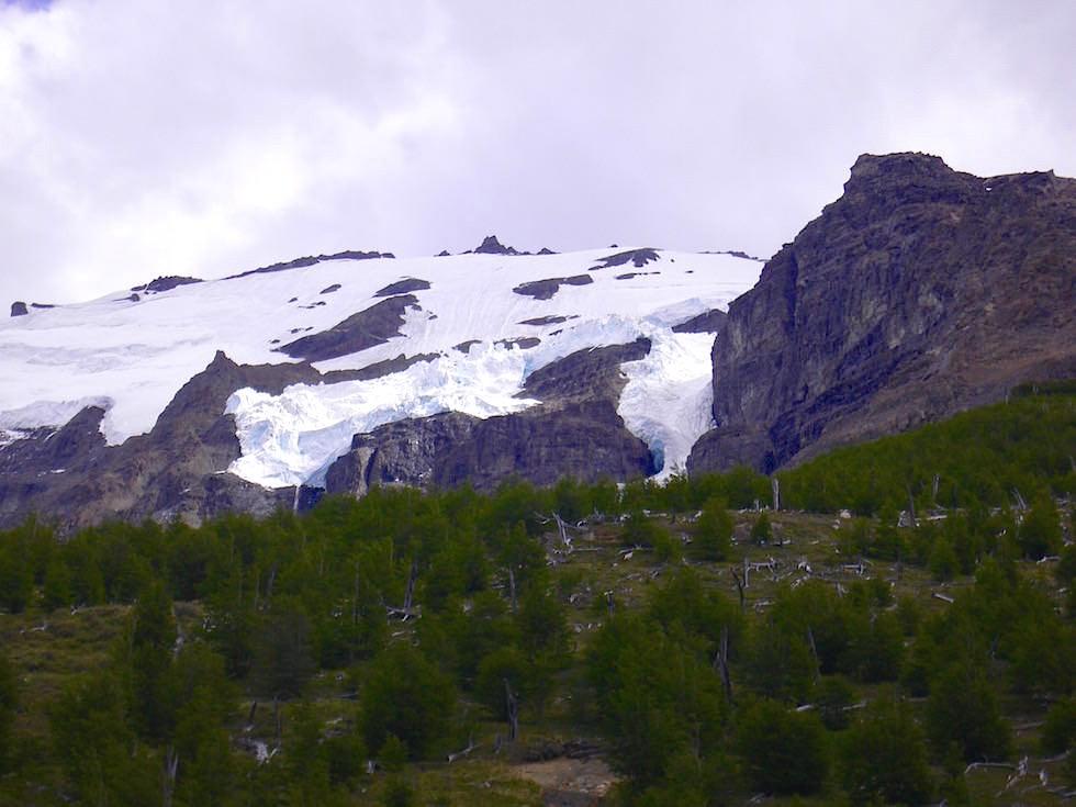 Gletscher beim Torres del Paine - Torres del Paine Nationalpark - Patagonien, Süd-Chile