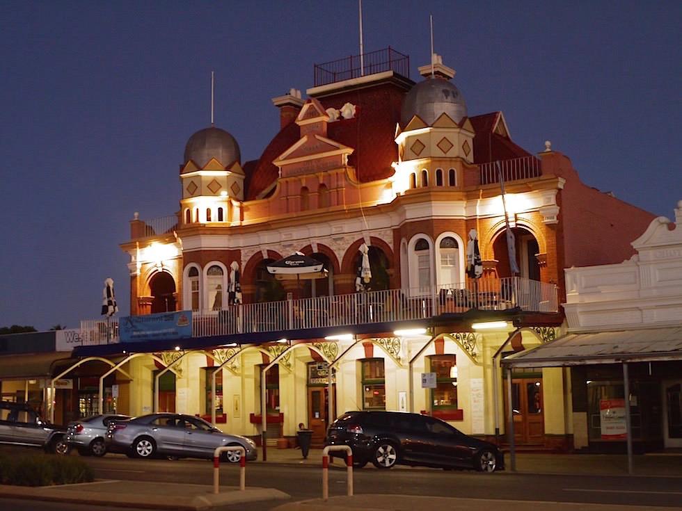 The York bei Nacht - Kalgoorlie - Western Australia