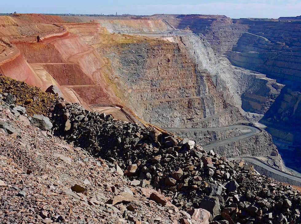 Super Pit Goldbergwerk Kalgoorlie - Western Australia