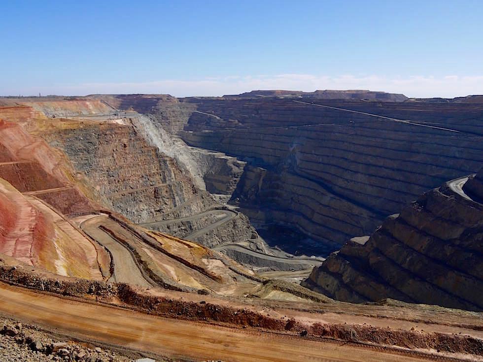 Super Pit Goldmine Kalgoorlie - Western Australia