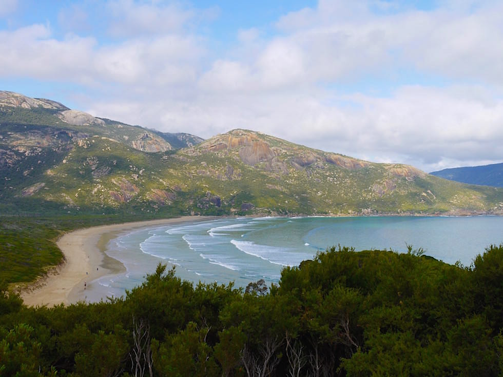Blick auf Norman Bay - Wilsons Promontory National Park - Victoria