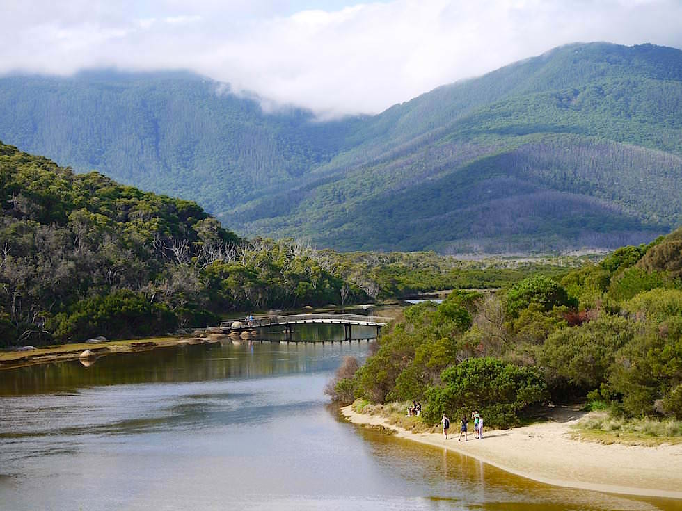 Blick auf Tidal River - Wilsons Promontory National Park - Victoria