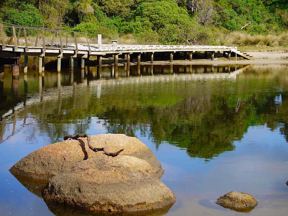 Brücke Tidal River - Wilsons Promontory National Park - Victoria