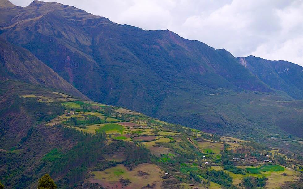 Start des Salkantay Treks Peru