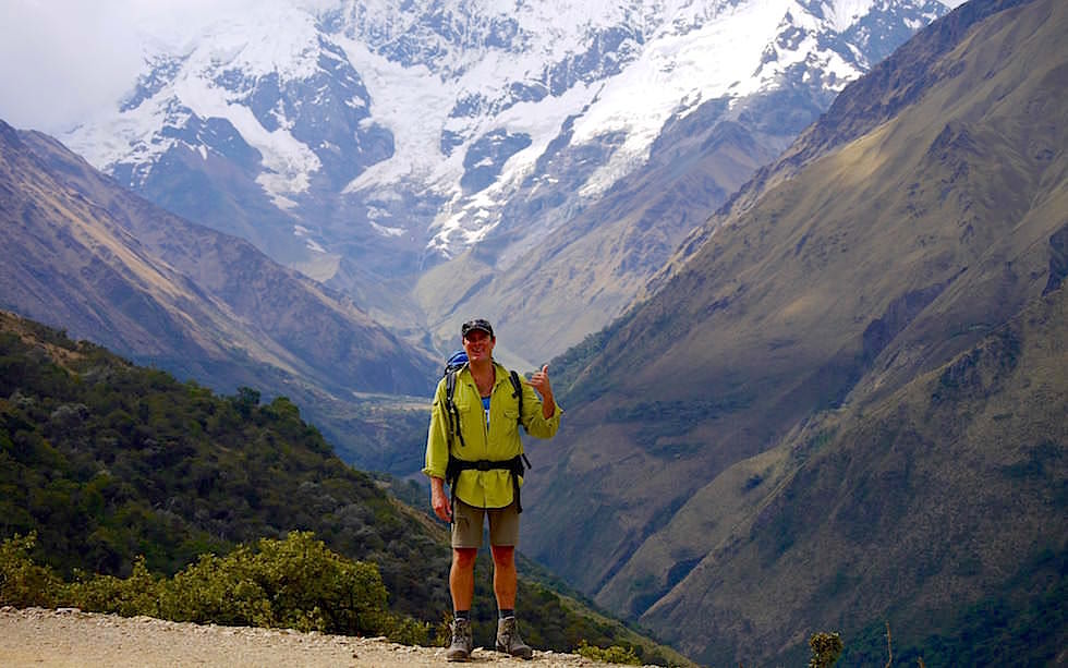 Nevado Tucarhuay Salkantay Trek Peru