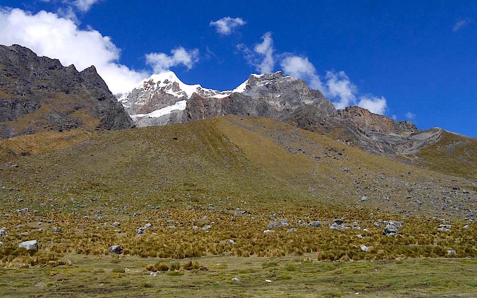 Hochland und Bergwelt Salkantay Trek Peru - Machu Picchu