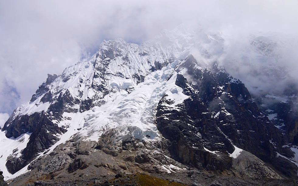 Auf der Passhöhe - Salkantay Trek Peru