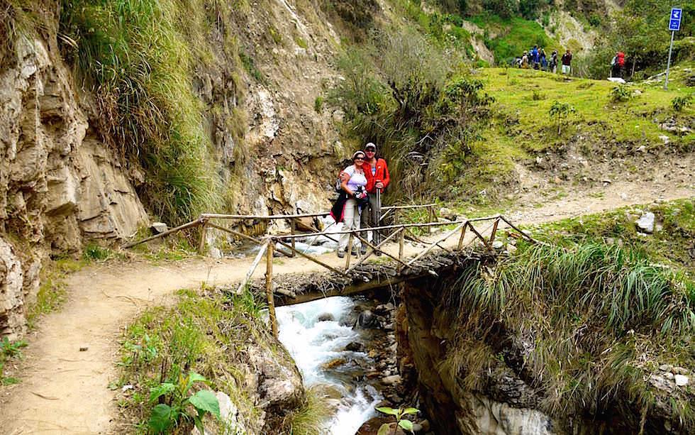 Nebelwald Gebiet und Täler Pass Salkantay Trek Peru