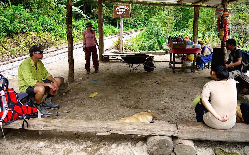 nach Aqua Calientes Salkantay Trek Peru