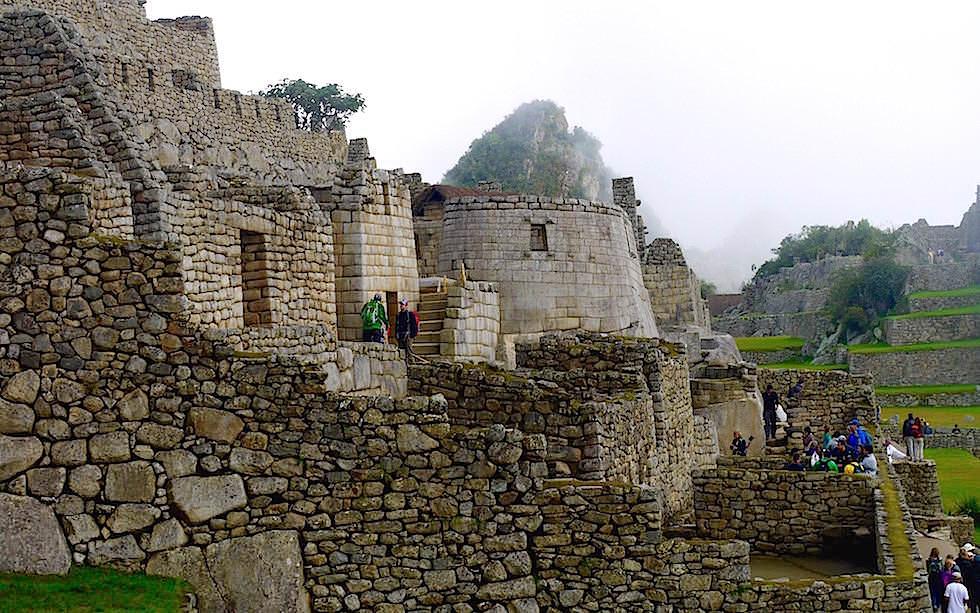 Gebäude Machu Picchu - Peru