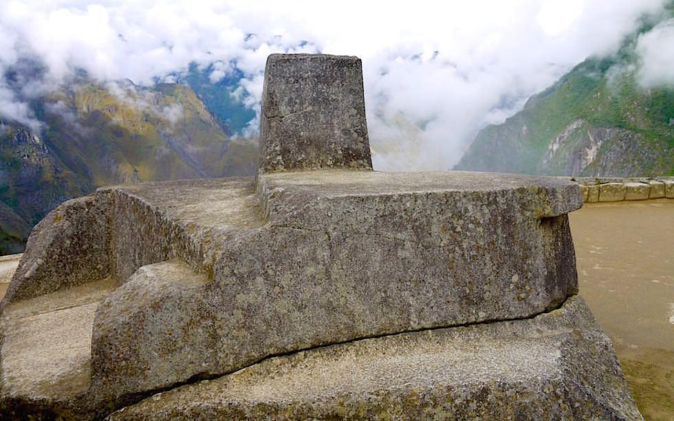 Sonnenuhr Machu Picchu - Peru